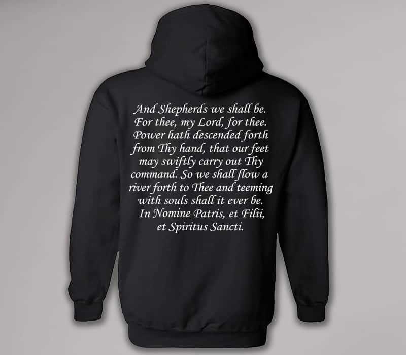 Boondock saints prayer hoodie