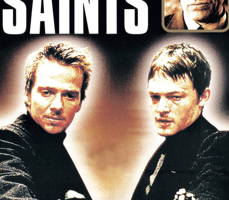 boondock saints original movie poster autograph by troy