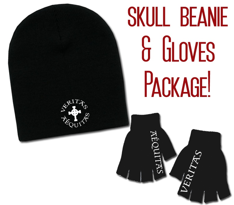 VA Skull Beanie & VA Gloves Package!